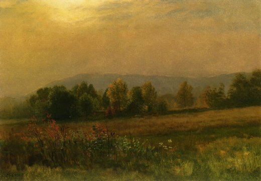 albert bierstadt new england landscape paintings