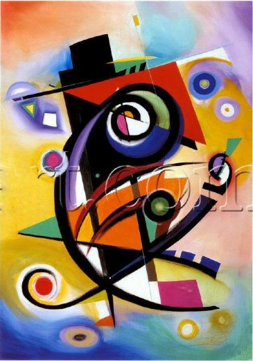 alfred gockel homage to kandinsky paintings