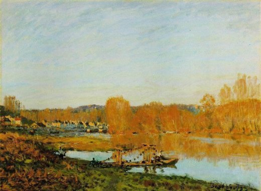 alfred sisley autumn paintings
