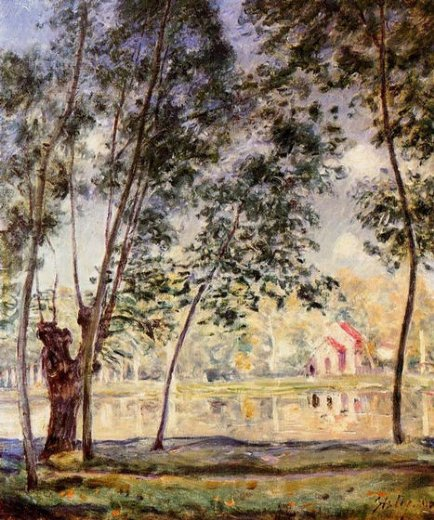 alfred sisley sunny afternoon prints