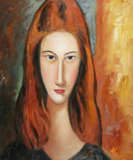 amedeo modigliani portrait of jeanne hebuterne v painting