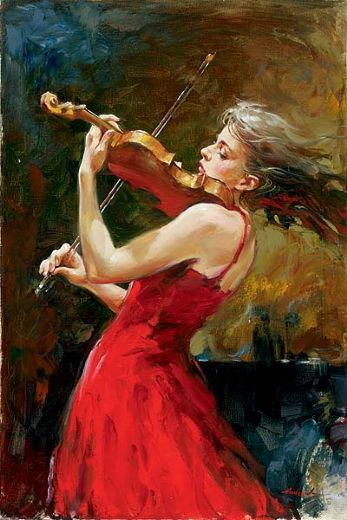 andrew atroshenko the passion of music paintings