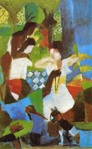 august macke turkish jewel trader posters