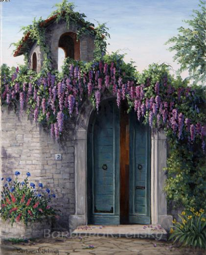 barbara felisky ravello wisteria paintings