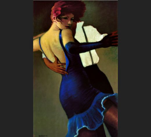 bill brauer harvest moon painting