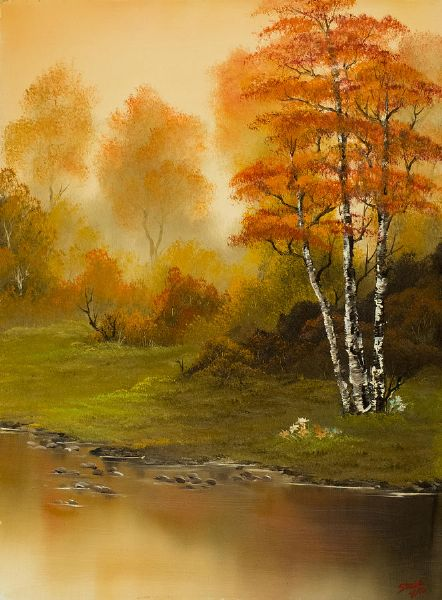 bob ross autumn splendor 85980 painting
