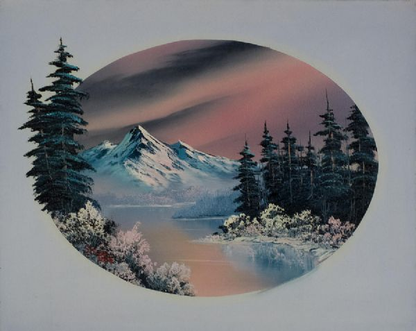 bob rosswinter oval 86163 Painting-86163