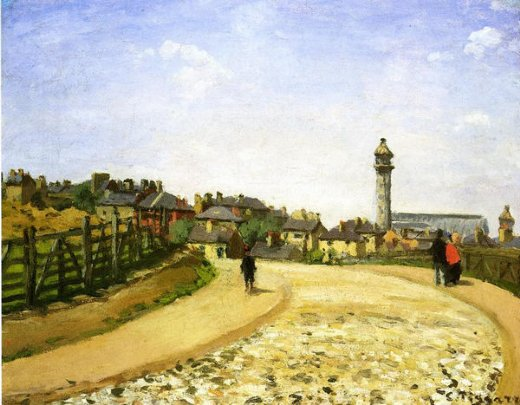 camille pissarro upper norwood chrystal palace london paintings