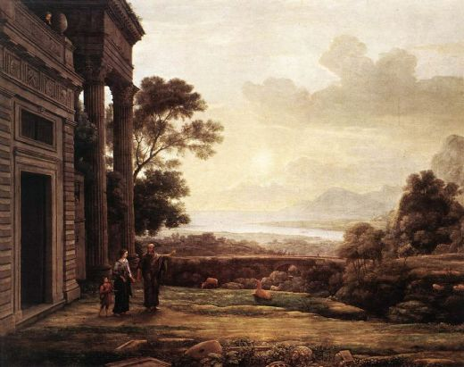 claude lorrain the expulsion of hagar posters