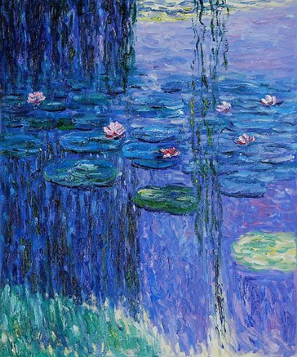 claude monet nympheas ii paintings