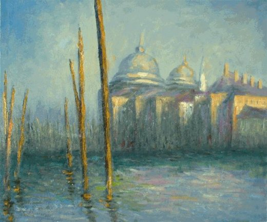 claude monet the grand canal venice paintings