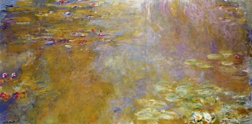 claude monet the water lily pond 1 prints