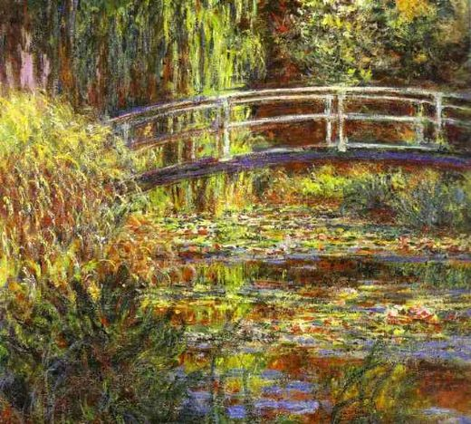 claude monet the water lily pond painting