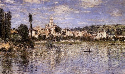 claude monet vetheuil in summer paintings