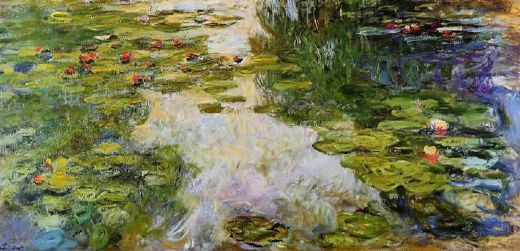 claude monet water lilies 42 painting