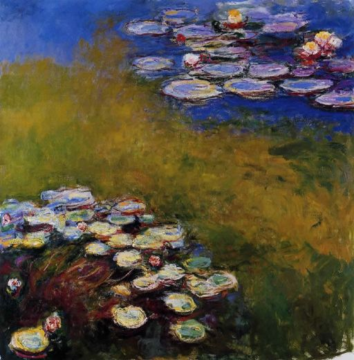 claude monet water lilies 46 painting