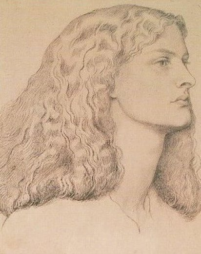 dante gabriel rossetti annie miller iv painting