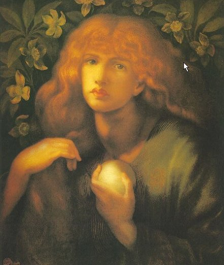 dante gabriel rossetti mary magdalen painting