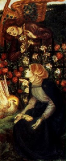 dante gabriel rossetti the annunciation posters