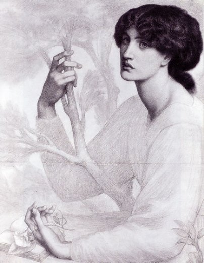 dante gabriel rossetti the day dream paintings