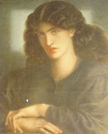 dante gabriel rossetti the lady of pity oil painting