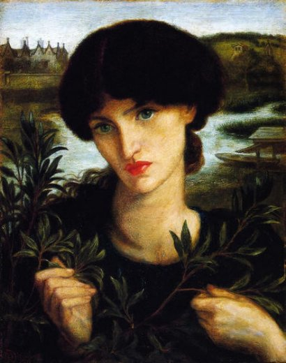 dante gabriel rossetti water willow painting