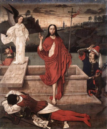 dirck bouts resurrection painting