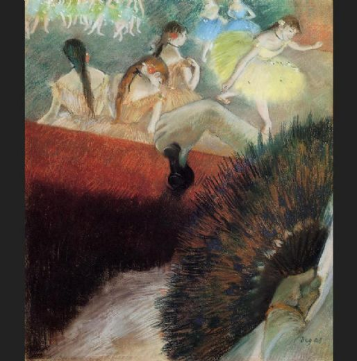 edgar degas at the ballet paintings