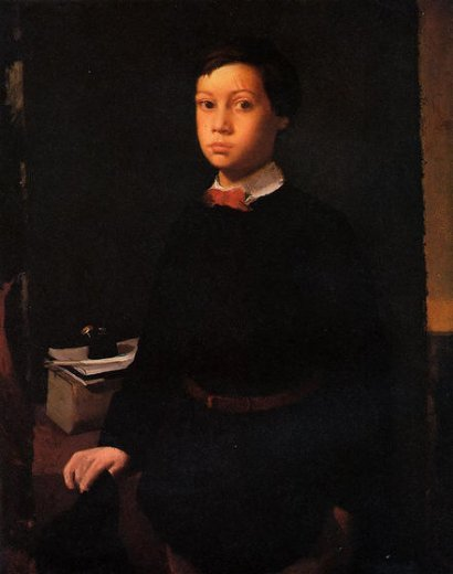 edgar degas portrait of rene de gas ii paintings