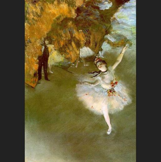 edgar degas the star i paintings