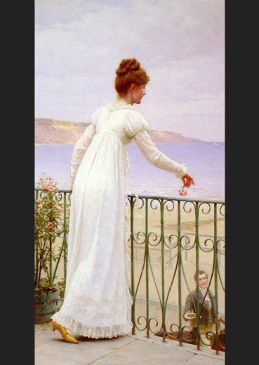 edmund blair leighton a favour painting