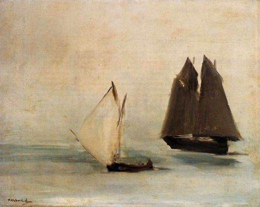 edouard manet seascape painting
