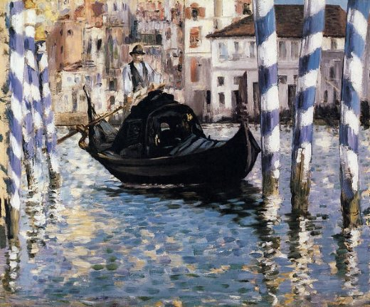 edouard manet the grand canal venice ii painting