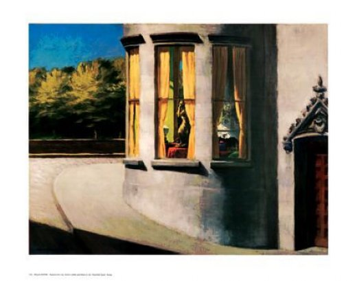 edward hopper august in the city painting