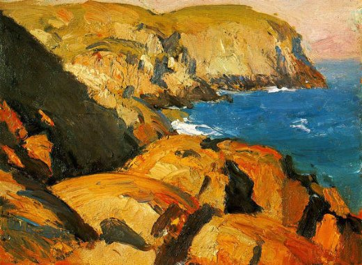 edward hopper blackhead monhegan paintings