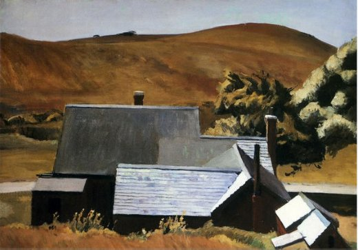 edward hopper burly cobb s house south truro painting