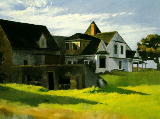 edward hopper cape cod afternoon paintings