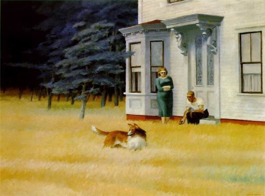 edward hopper cape cod evening paintings