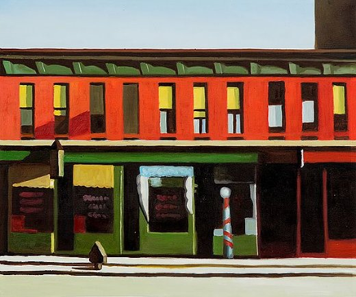 edward hopper early sunday morning ii painting