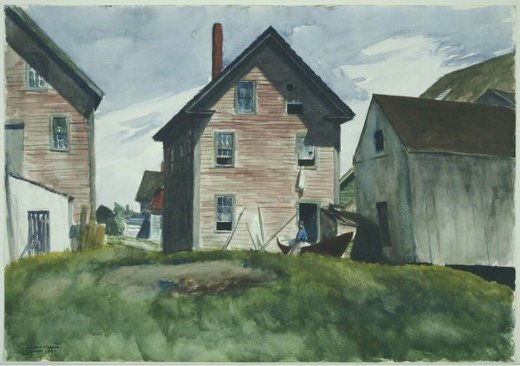 edward hopper gloucester mansion paintings
