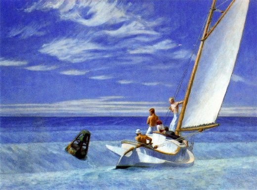edward hopper ground swell painting