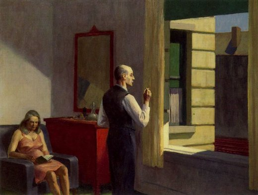 edward hopper hotel by a railroad painting