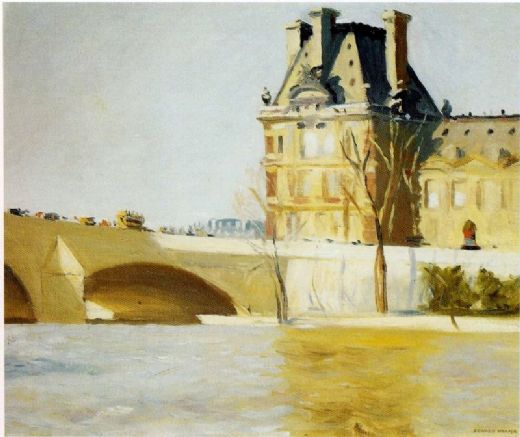 edward hopper les pont royal painting