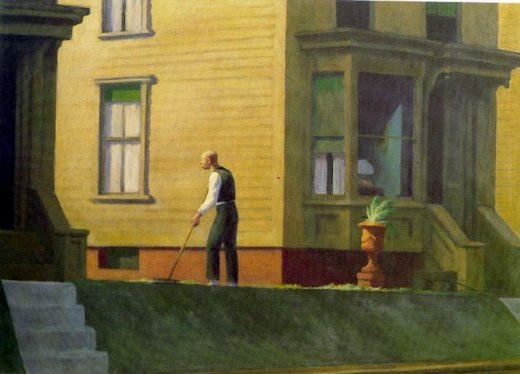 edward hopper pennsylvania coal town paintings