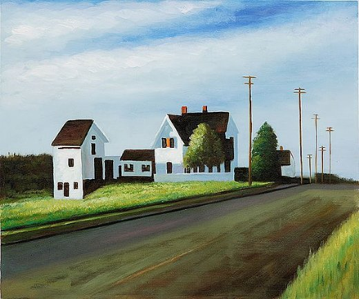 edward hopper route 6 eastham paintings
