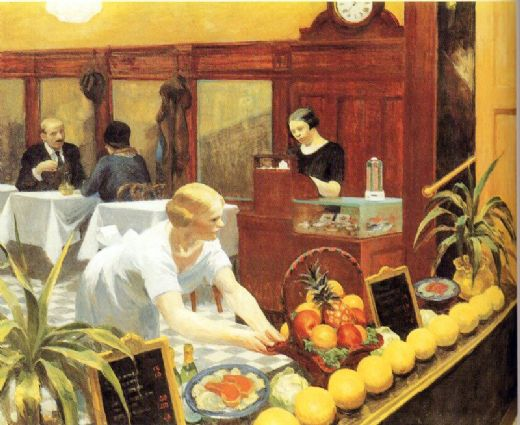 edward hopper tables for ladies painting