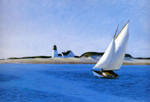 edward hopper the long leg paintings
