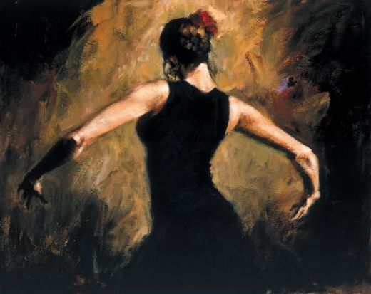 fabian perez flamenco iii paintings