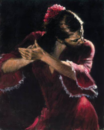 fabian perez flamencov paintings