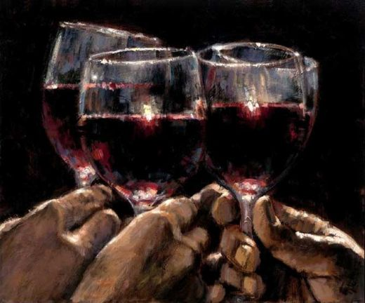 fabian perez for a better life iv painting